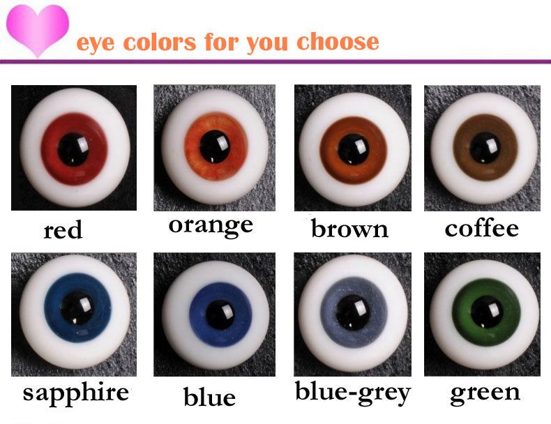 Eye color choice