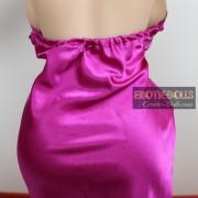 Pink pajamas V-neck dress 03