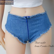 Jeans hot pants and T-shirt 04