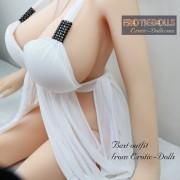 Babydolls & Chemises white dress 04