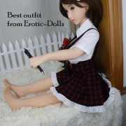 Schoolgirl style outfit 02