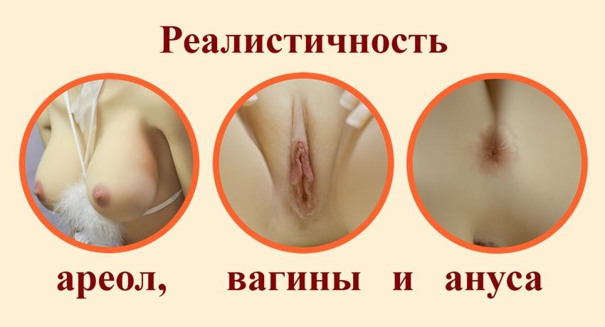6ye realistic areolas, vagina and anus (rus)