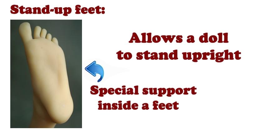D4E Stand-up feet (eng)