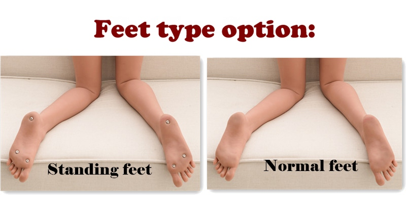 Stand-up feet option (eng)