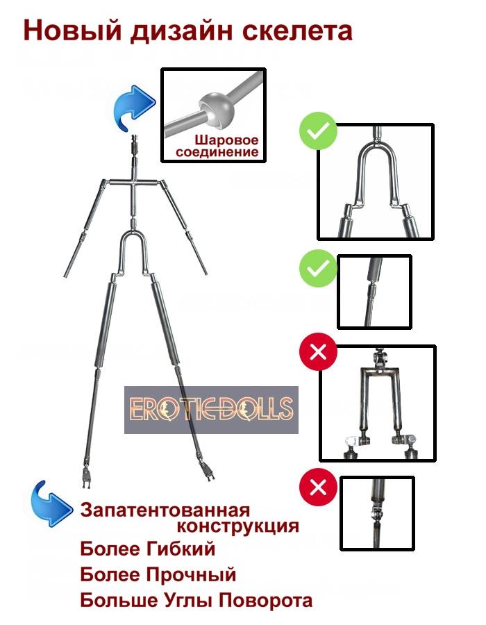 6YE new skeleton design (rus)