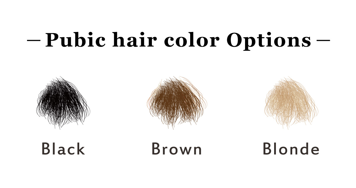 DH168 regular pubic hairs EN
