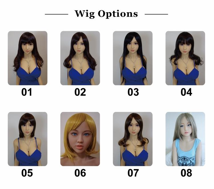 DH168 regular wigs (eng)
