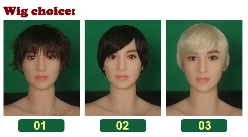 WM male wigs EN