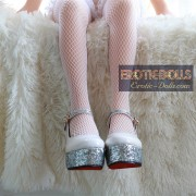 High heel shoes for 100cm doll (2)