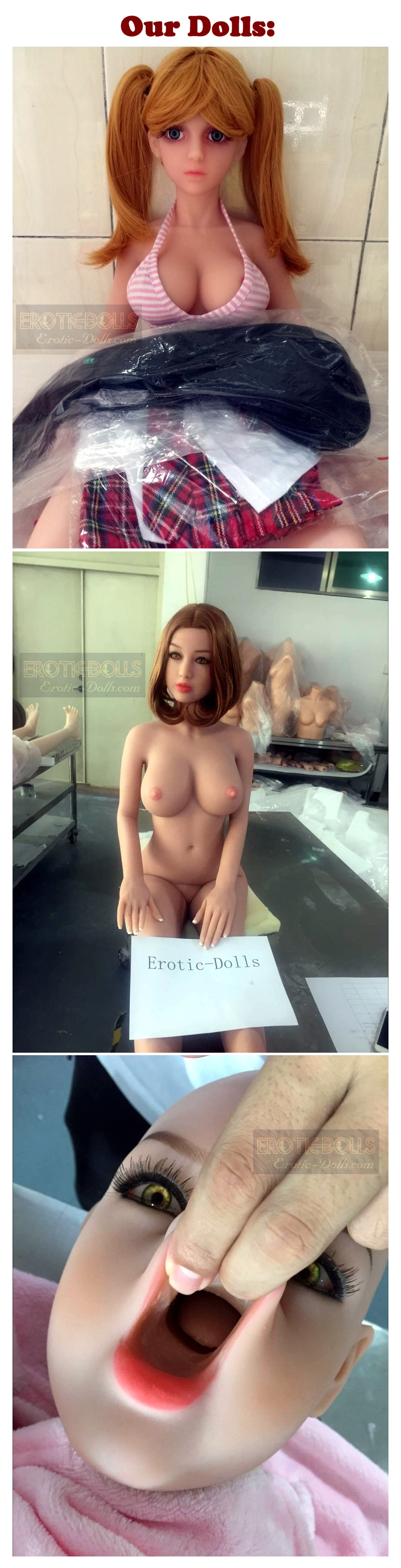 Quality - Our dolls poster EN