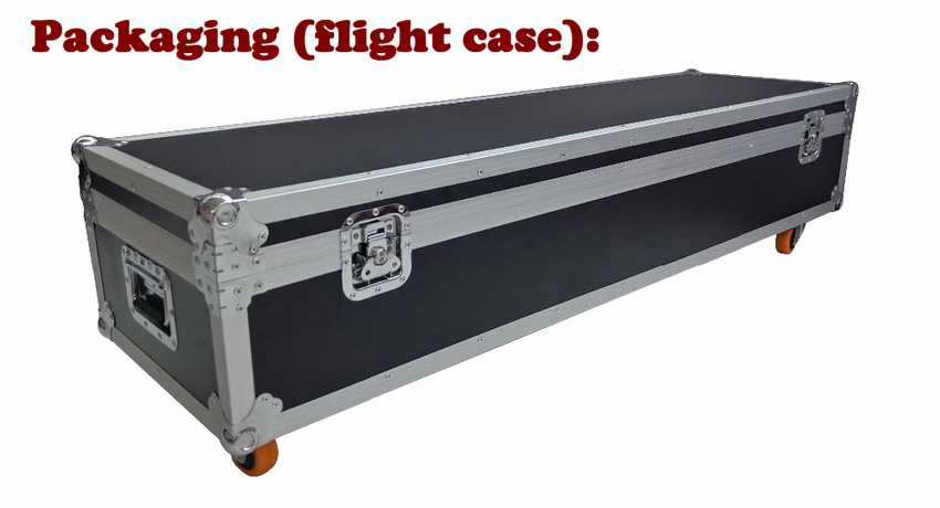 Robot series - Packaging (flight case) EN
