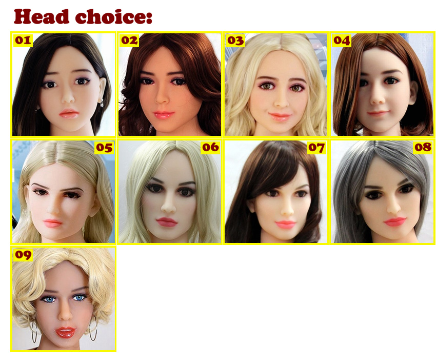 Robot series - head choice EN