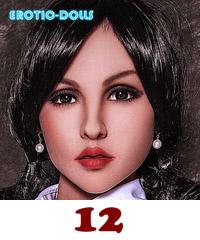 Filrdoll head #12