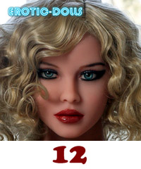 AS DOLL head #12