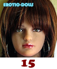 AS DOLL head #15