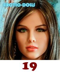 AS DOLL head #19