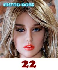AS DOLL head #22