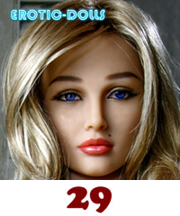 AS DOLL head #29 (blonde)