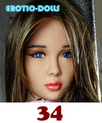 AS DOLL head #34