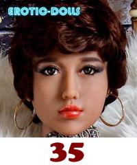 AS DOLL head #35