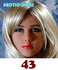 AS DOLL head #43