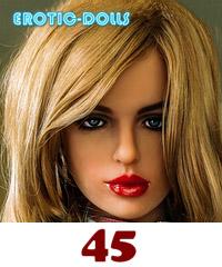 AS DOLL head #45