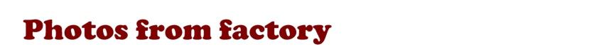Photos from factory logo EN