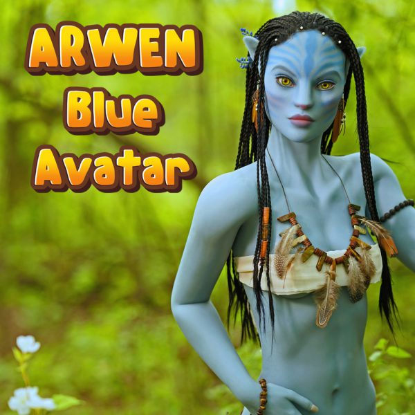 Arwen blue Avatar by SM (basic)