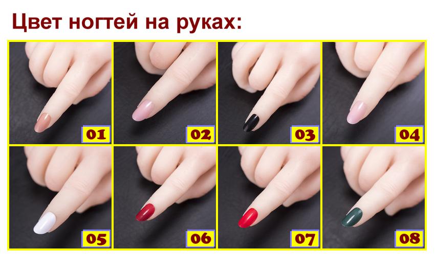 Sino Fingernails color RU