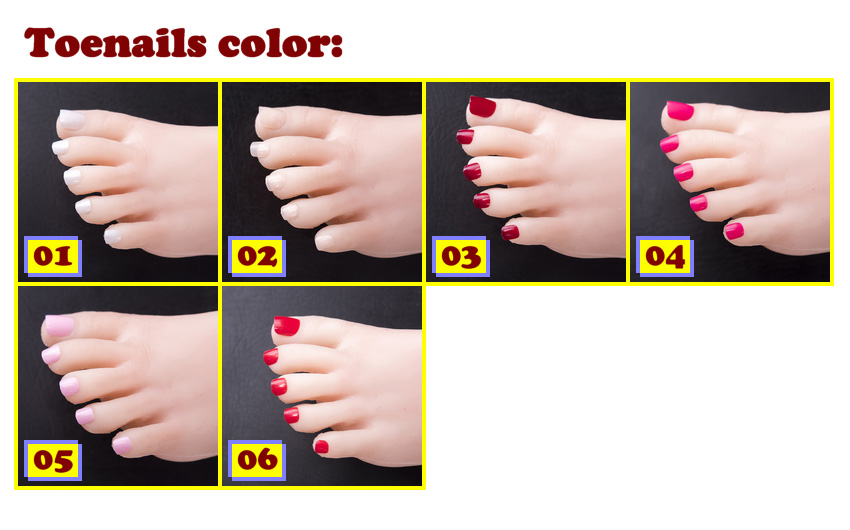 Sino Toenails color EN