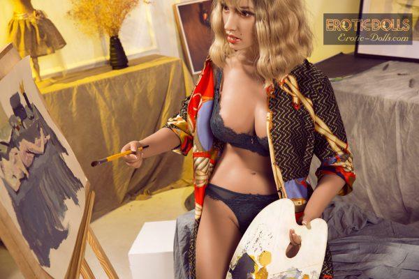 Silicone realistic sex doll Stefanija 14