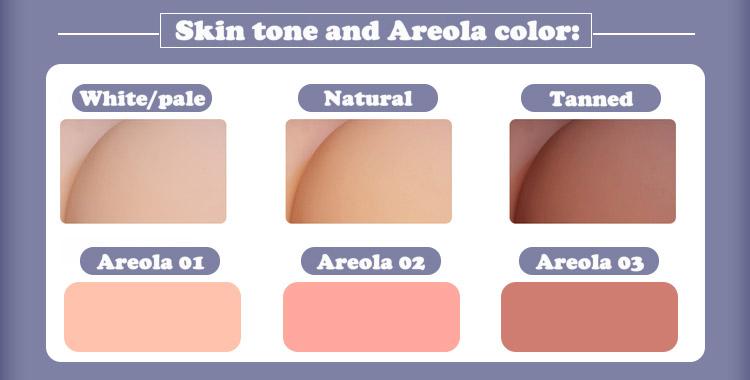 Qita skin tone & Areola color EN
