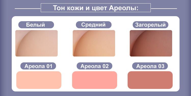 Qita skin tone & Areola color RU