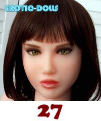 27 D4E head - Flavia