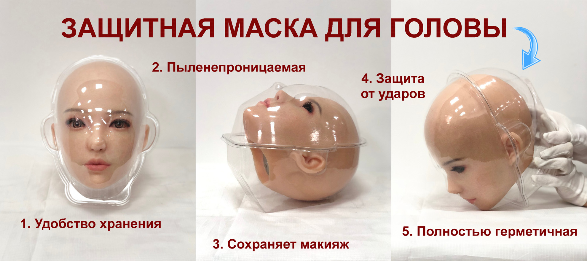 Sino Special protection head-mask RU