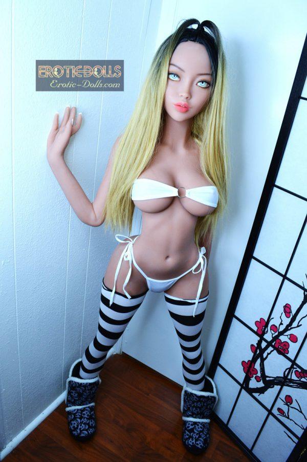 Sex doll Asti in stockings 14