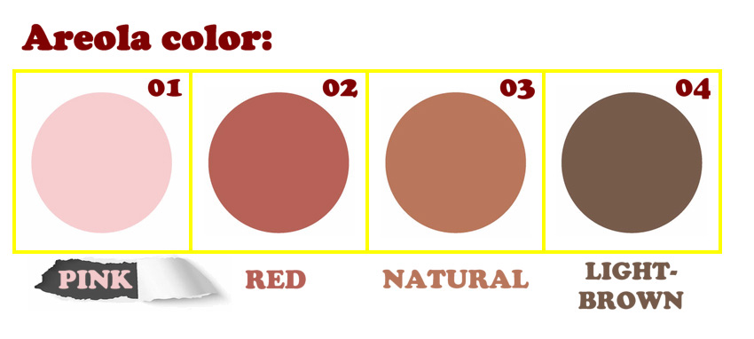 Piper Silicone areola color option EN