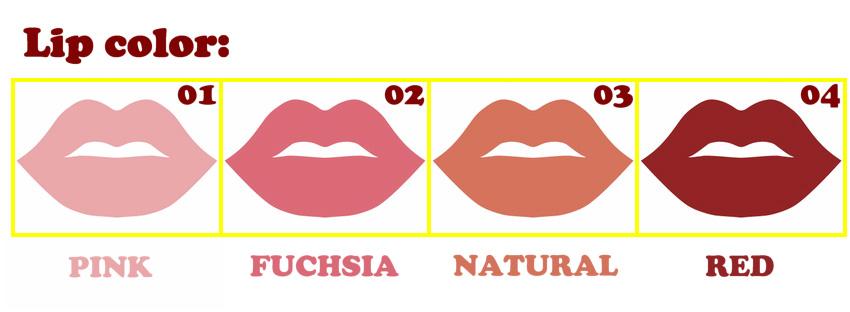 Piper Silicone lip color option EN