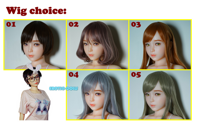 Piper Silicone wig option EN