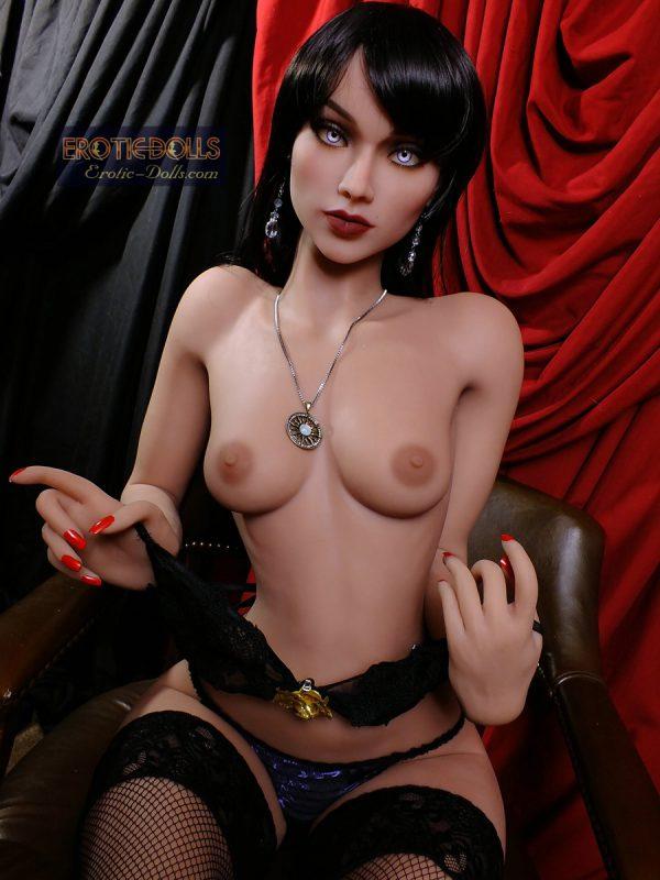 Sex doll Regina in stockings 3