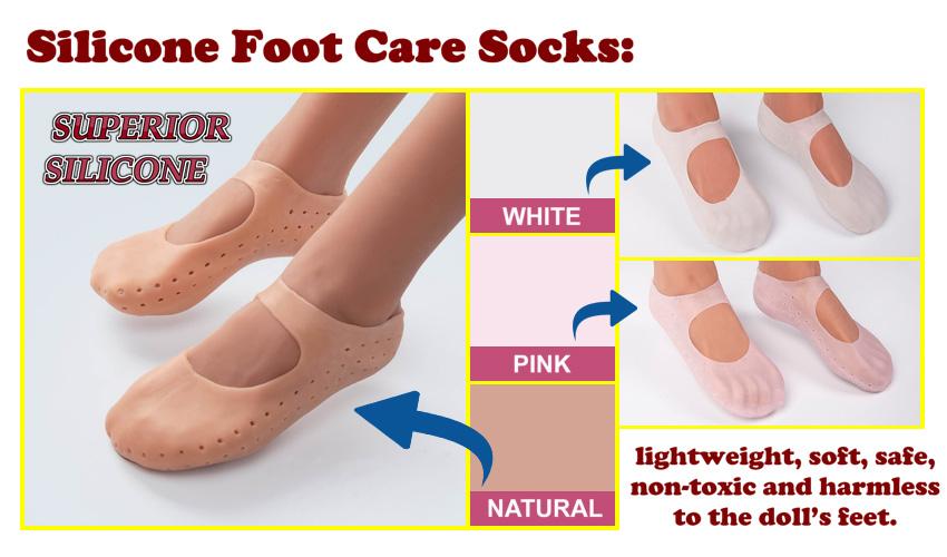 SE silicone foot care socks EN