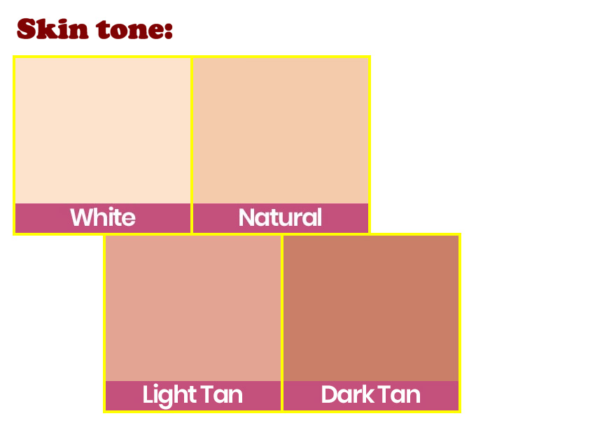 SE skin tone option EN