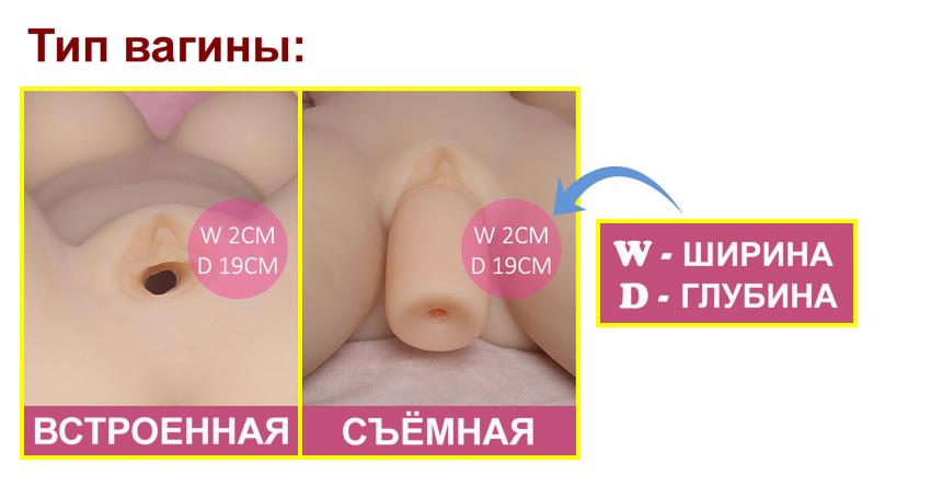 SE vagina type RU