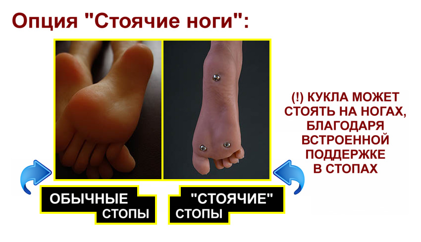 YL stand-up feet option RU