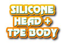 Navi button - silicone head+TPE body