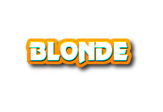 Navi button - blonde
