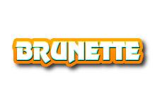 Navi button - brunette