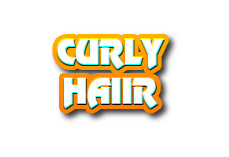 Navi button - curly hair