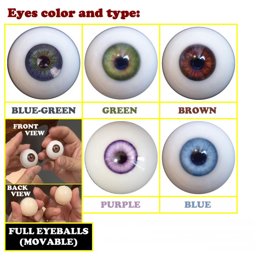 Piper Silicone eyes option EN