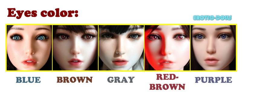 Gynoid eyes color option EN